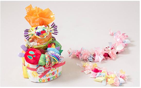 徳島県 石井町 おむつケーキ 玩具セット