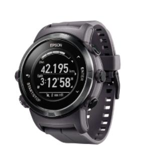 EPSON GPSランニングウオッチ黒