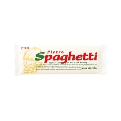 ピエトロの「スパゲティ(麺)」(500g×8袋)