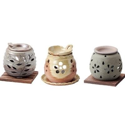 【片野坂製茶】知覧茶と茶香炉セット