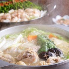 博多若杉牛もつ鍋と水炊きセット