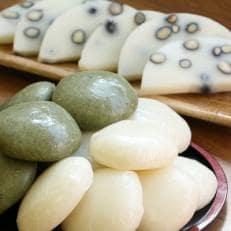 【期間限定】杵つき餅3種セット(白餅、よもぎ餅、豆餅)