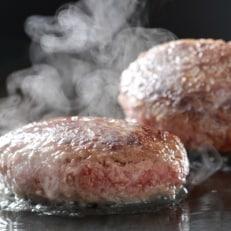 【大平樂特選】老舗肉屋の黒毛和牛100%ハンバーグ(12個)