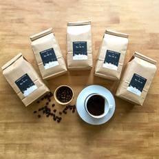 【大容量】KASUGAコーヒー×Nanの木 おうちカフェ飲み比べセット たっぷり1.5kg【豆】