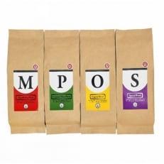 レギュラーコーヒー4種セット200gx4種(豆) A293