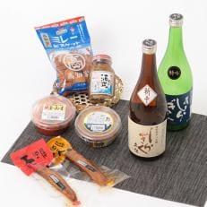 芸西村産地酒と高知つまみセット