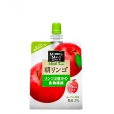 ミニッツメイド朝リンゴ 180gパウチ×24個入り H207