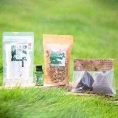 日向のかおり 天然樟から生まれた・芳香清浄セット(快樹)―樟の香りで快適な空間づくりを