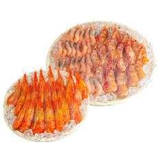 【北海道産】海老3種セット約1.4kg(北海シマエビ、ボタンエビ、甘えび)