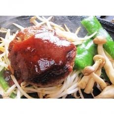 北海道定番のラムを豪華にハンバーグとラムステーキ