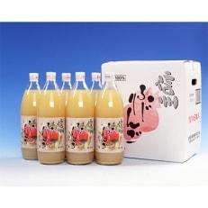 信州ふじりんごジュース 1L×6本入