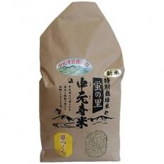 【平成30年産新米】特別栽培米 夢つくし 玄米 13kg