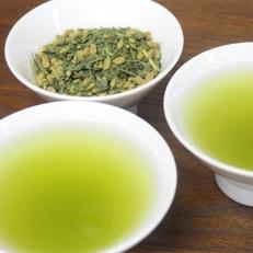 原料にこだわった★オーガニック玄米茶(抹茶入) 200g・5袋セット【岡部茶】