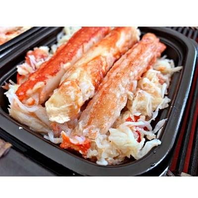 【数量限定】レンジでポン!北海道産タラバ棒肉・むき身盛り合わせ(120g×3パック)」