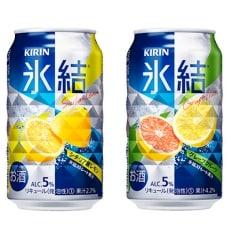 キリン氷結(シチリア産レモン&グレープフルーツ) 350ml×各1ケースタオル付 B411