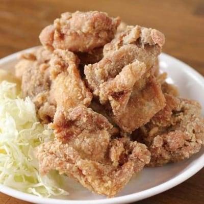 超ジューシー♪もっちり食感!米ヶ岡鶏カラアゲセット300g×4sat493