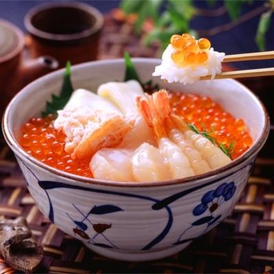 【数量限定】ホタテ(300g)・醤油いくら(250g)・甘エビ(500g)氷海セット