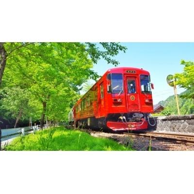 観光列車「ながら」ランチプラン 予約券(乗車券)(ペア)