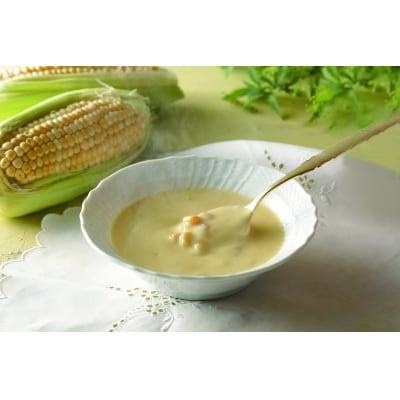 ピエトロ「北海道産とうもろこしで作るコーンクリームスープ(8食セット)」