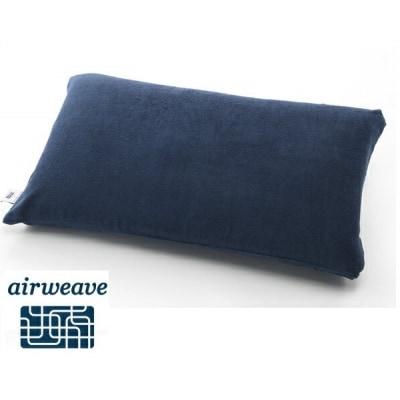 エアウィーヴ ピローケース ソフトタッチ ネイビー(日本アトピー協会推薦品)枕カバー