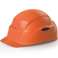 【防災用】回転式折りたたみヘルメット Crubo 130 オレンジ色