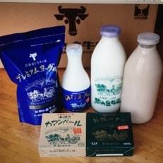ピカタの森駒ヶ岳牛乳 乳製品詰め合わせ (6種類)Bセット