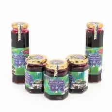 「紫のめぐみ」ハスカップジャム&ソースセット