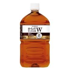 【トクホのお茶】からだすこやか茶W 1050ml×12本