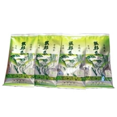 2018年度産『新茶』若葉の香りのオーガニック茶(有機栽培)4本セット