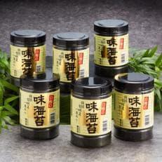 有明海産一番のり 自慢の味海苔6本セット(8切80枚入)