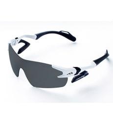 鼻パッドのないサングラス「エアフライ」最新型AF-301 C-2 ホワイト(偏光レンズ装着版)