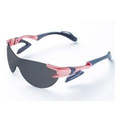 鼻パッドのないサングラス「エアフライ」最新型AF-302 C-4ピンク(偏光レンズ装着版)