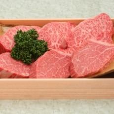 和牛専門焼肉店が厳選した ロース、ヒレのステーキ盛り合わせ約930g D045