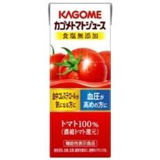 カゴメトマトジュース食塩無添加 200ml×72本