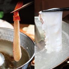稚内海鮮しゃぶしゃぶセット(かに&たこ)