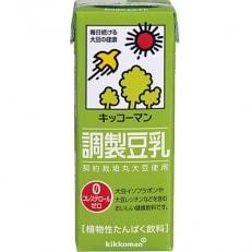 キッコーマン調製豆乳1L×6本×4箱 合計24本 B697