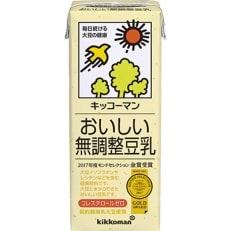 キッコーマン無調整豆乳1L×6本×4箱 合計24本 B696