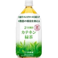 伊藤園 2つの働きカテキン緑茶 1.05L×12本 B574