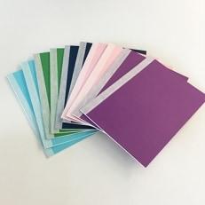 紫陽花柄ノート