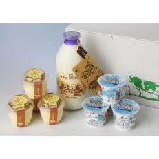 乳製品セットB(きすきヨーグルト・カスタードプリン・ノンホモ牛乳)