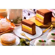 長崎歴史感じる石畳ショコラセット グラバー園の石畳ショコラと桃バターカステラと しあわせフロマージュ
