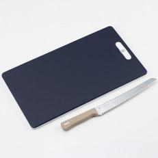 栗原はるみ 角型まな板&パン切りナイフ