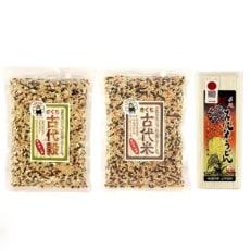 きくち古代米セットA (四穀・八穀・うどん)【菊池まるごと市場】