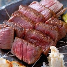 A4等級以上保証! 近江牛ロース熟成肉250gセット(ステーキ&焼肉)