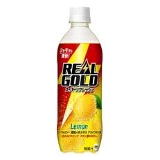 リアルゴールド スーパーリフレッシュ レモン 490mlPET 1ケース (計24本)