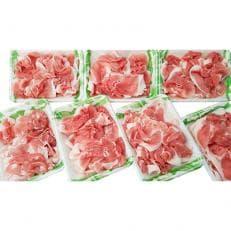豚肉切り落とし2.1kg!諫早平野の米で育てた諫美豚(かんびとん)