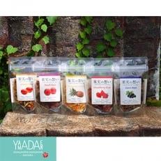 【藤枝市】たっぷり果実のたべられるお茶!フルーツフレーバーティー8袋セット