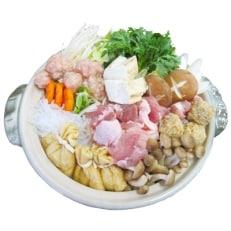 【越の鶏】ちゃんこ鍋セット(醤油ベース)