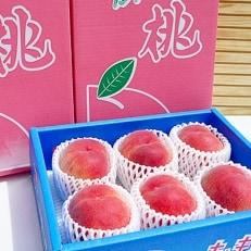 香川県の桃<滴る果汁とあふれる果肉が自慢>大玉の桃2kgセット