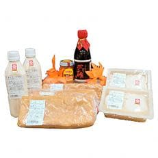 福井の油揚げ、豆腐、豆乳、調味料セット